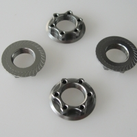 Wheel-nut 17mm flanged-light