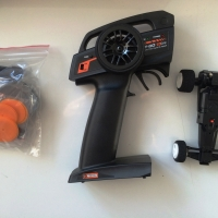 Parts and car with transmitter