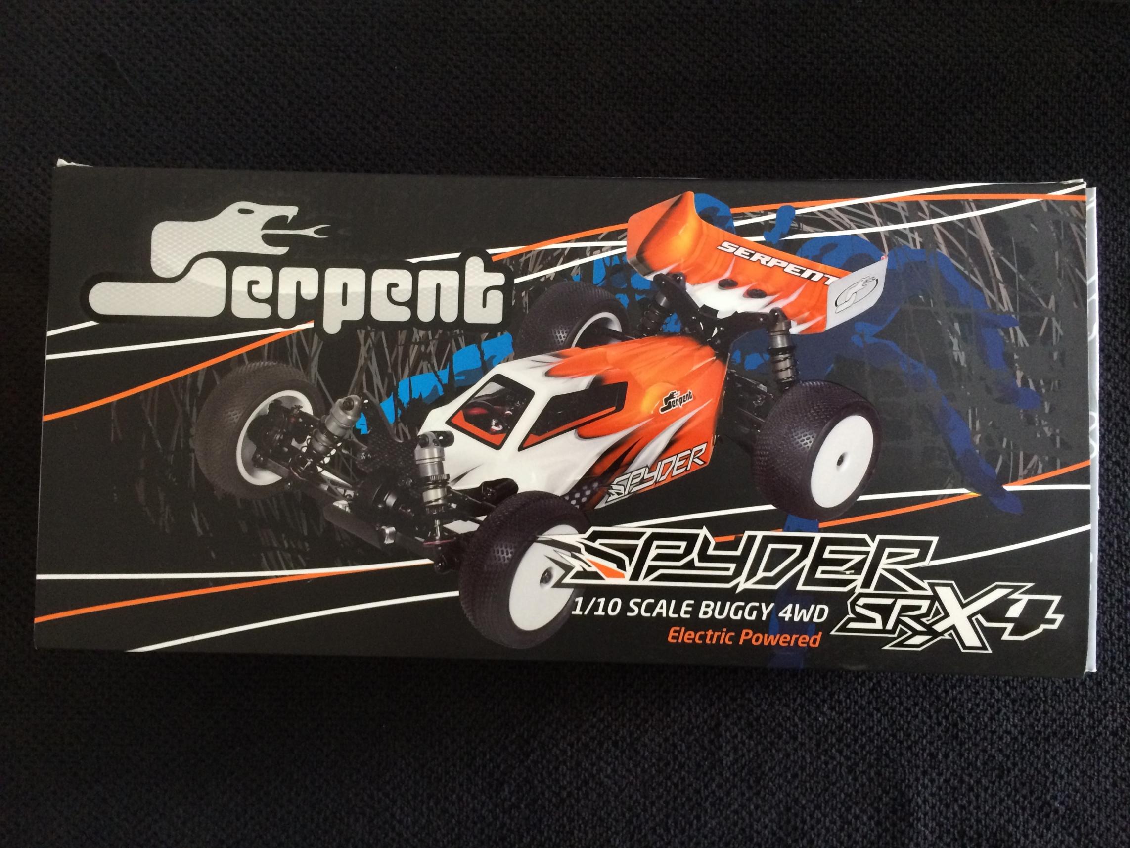 Serpent SRX-4 Build 001