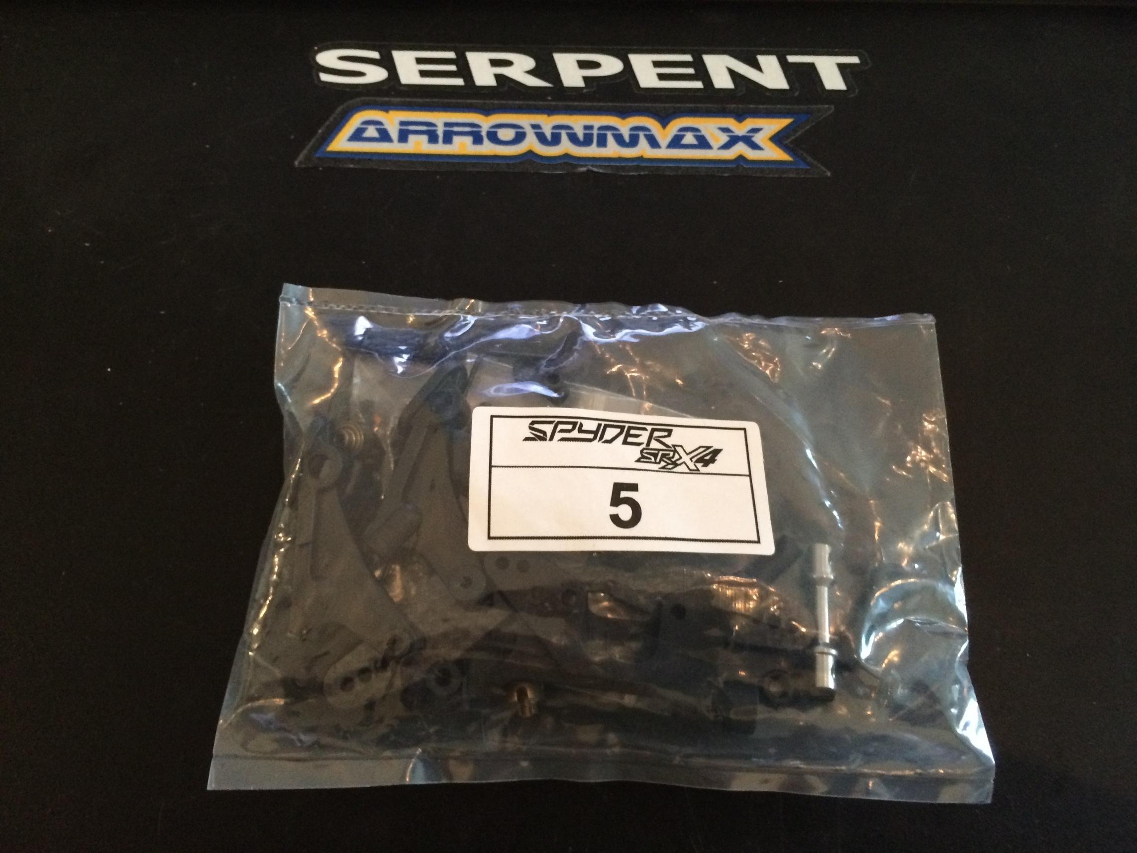 Serpent SRX-4 Build 083