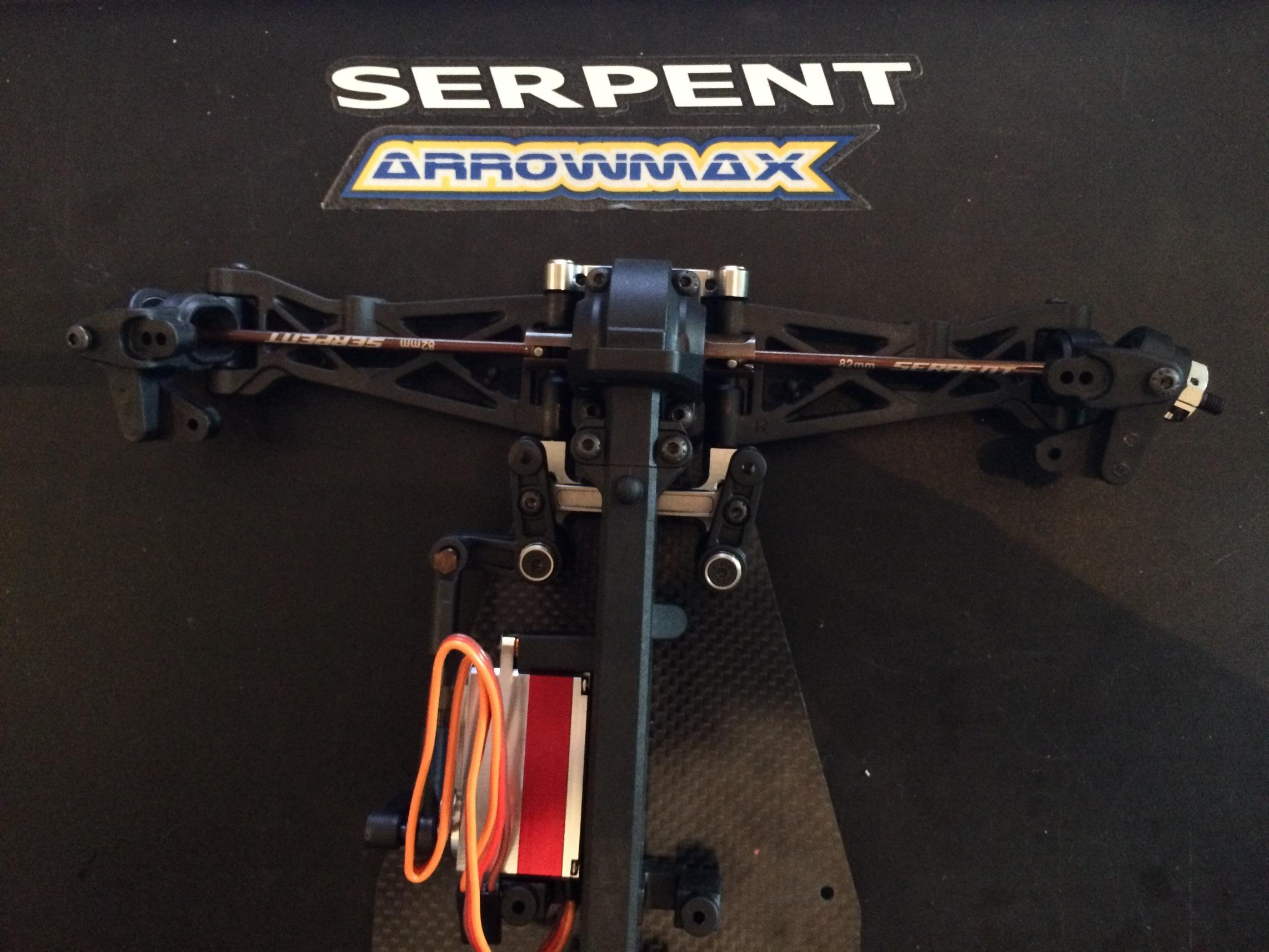 Serpent SRX-4 Build 122