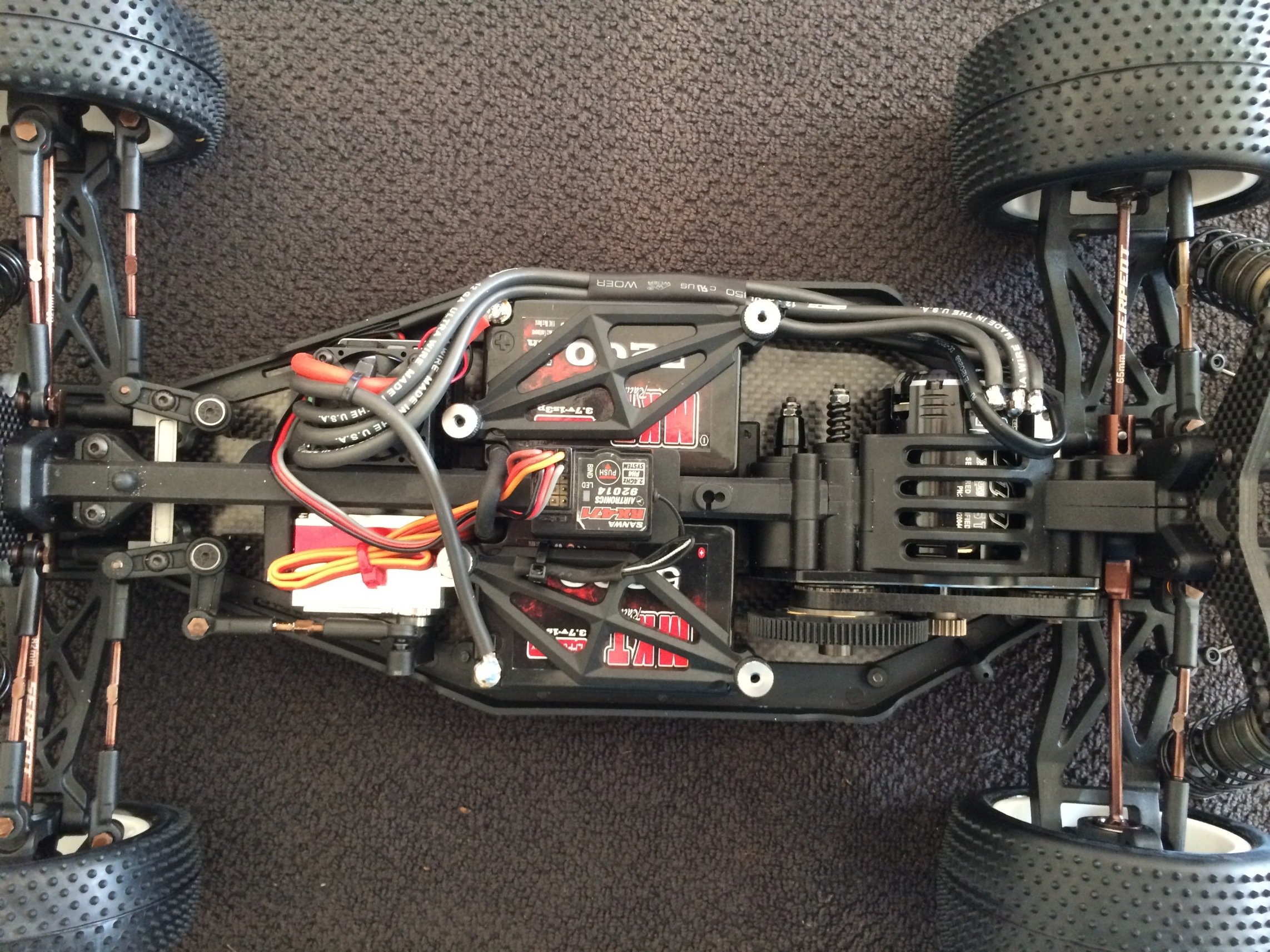 Serpent SRX-4 Build 165